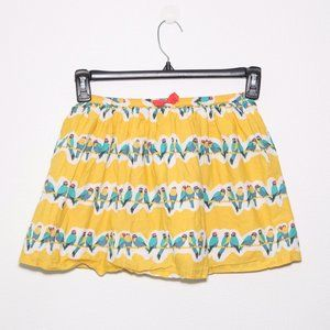Mini Boden Yellow Canary Skirt Size 7-8y